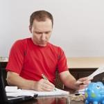 Personne versant une pension alimentaire déductible des impôts