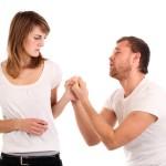 Homme refusant le divorce
