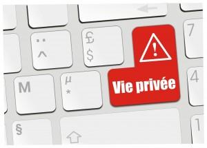 Protéger vie privé internet.