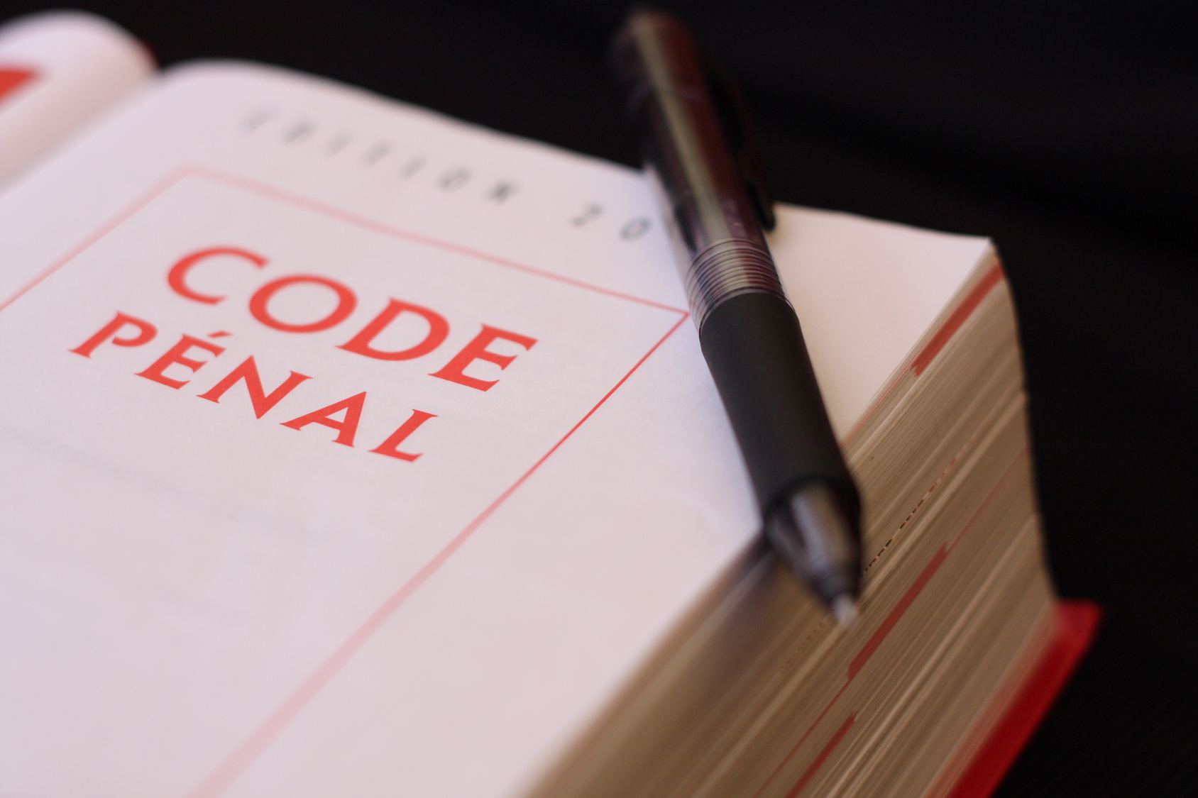 Code pénal français.
