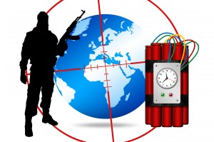 terroriste bombe